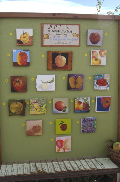 Apple Art Show Auction Entries