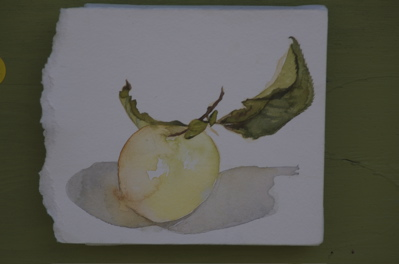 A whiter shade of pale - Apple Art!
